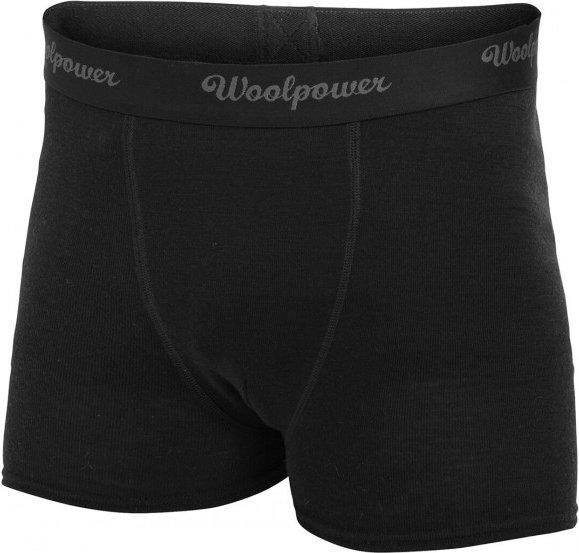Woolpower - Boxer - Merinounterwäsche Gr S schwarz