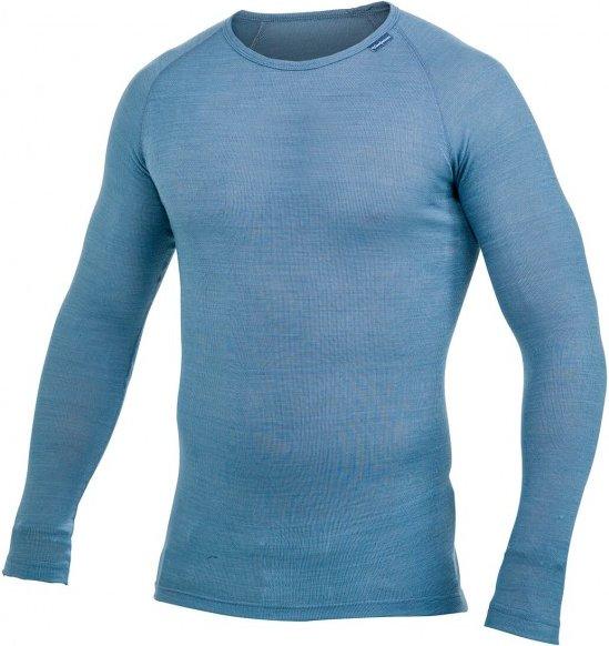 Woolpower - Lite Crewneck - Merinounterwäsche Gr XS blau