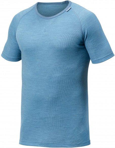 Woolpower - Lite Tee - Merinounterwäsche Gr XL blau/grau