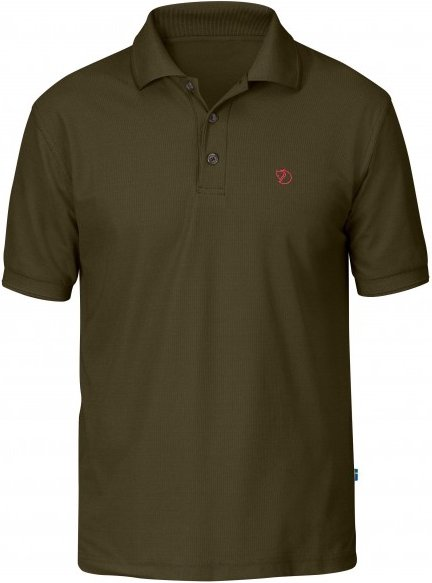 Fjällräven - Crowley Piqué Shirt - Polo-Shirt Gr XXL braun