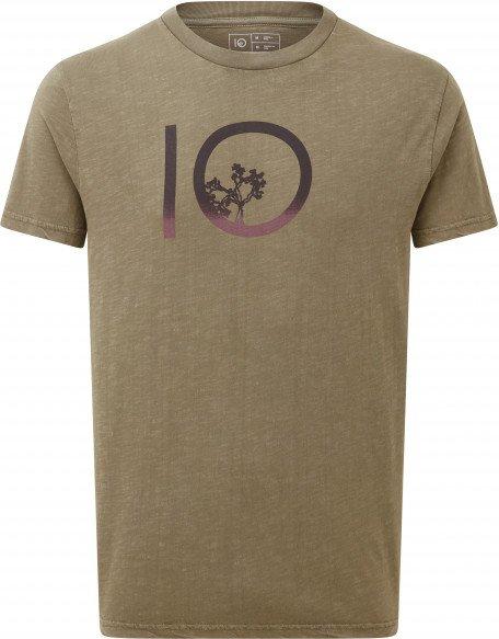 tentree - Gradient Ten S/S Tee - T-Shirt Gr S grau/braun