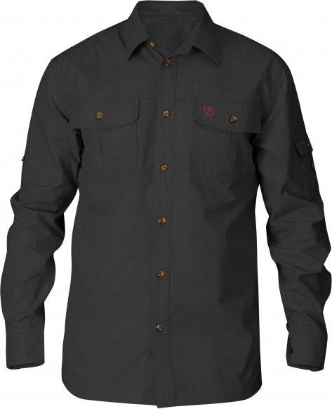 Fjällräven - Singi Trekking Shirt - Hemd Gr S schwarz