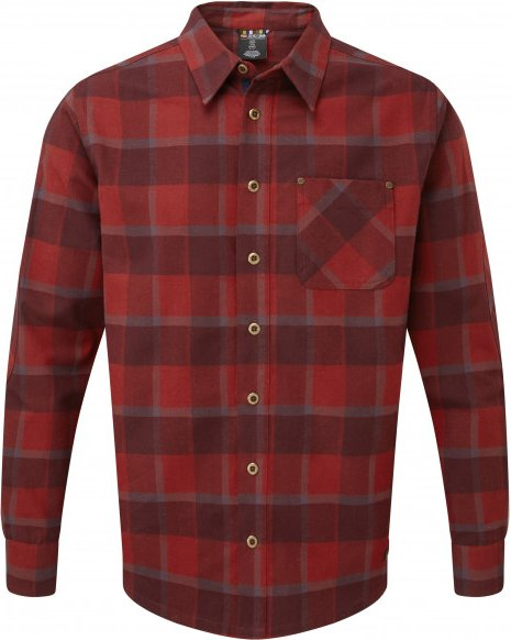 Sherpa - Sardar Shirt - Hemd Gr S rot