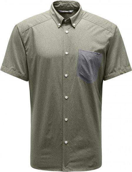 Haglöfs - Vejan S/S Shirt - Hemd Gr S grau/oliv
