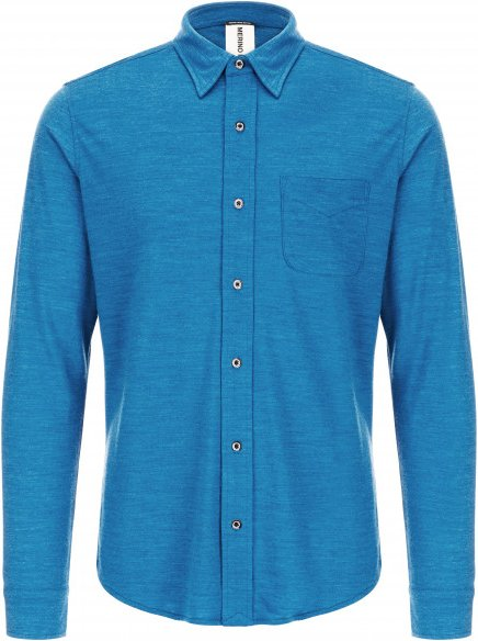 SuperNatural - Voyage Shirt - Hemd Gr S blau