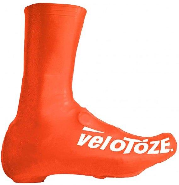 veloToze - Tall Cover - Überschuhe Gr M - 40,5-42,5 rot/orange
