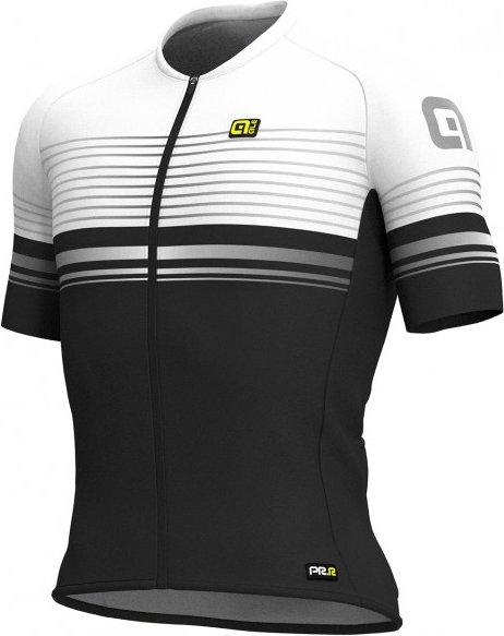 Alé - Slide Jersey S/S Graphics - Radtrikot Gr S schwarz/grau