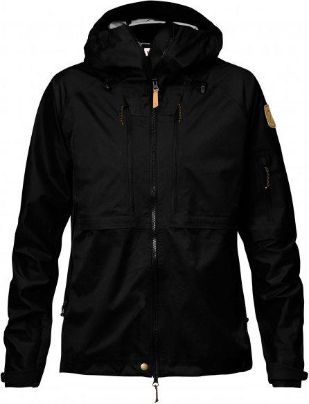 Fjällräven - Women's Keb Eco-Shell Jacket - Regenjacke Gr XS schwarz