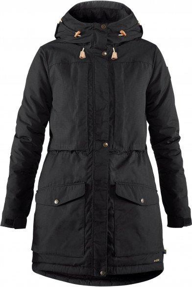 Fjällräven - Women's Singi Wool Padded Parka - Mantel Gr XL schwarz
