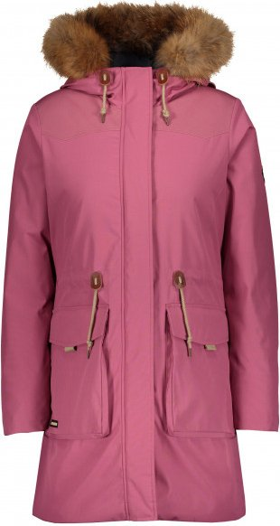 Powderhorn - Women's Parka Teton Wind River - Mantel Gr L rosa