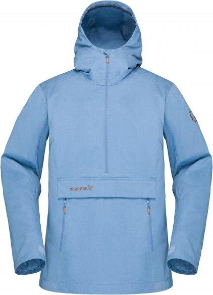Norrøna - Women's Svalbard Cotton Anorak - Freizeitjacke Gr S blau/grau