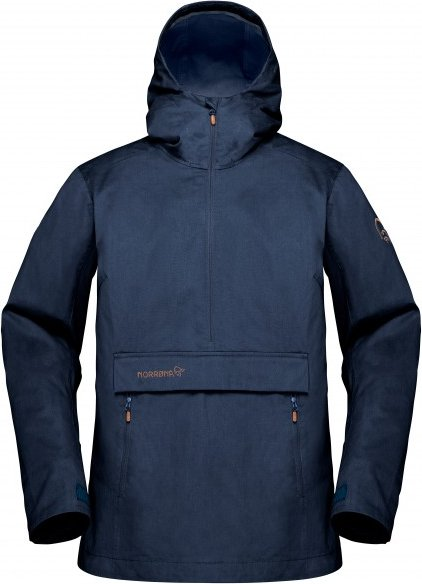 Norrøna - Women's Svalbard Cotton Anorak - Freizeitjacke Gr XL blau/schwarz