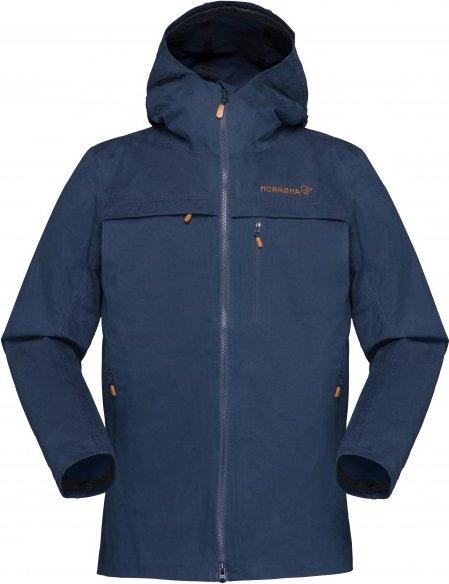 Norrøna - Women's Svalbard Cotton Jacket - Freizeitjacke Gr S blau
