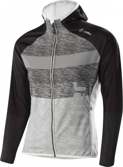 Löffler - Women's Hoody Speed - Langlaufjacke Gr 42 grau/schwarz