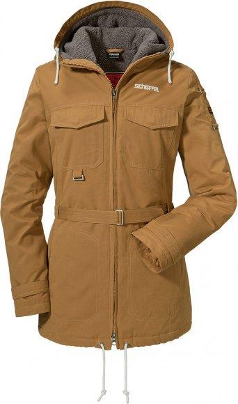 Schöffel - Women's Ins. Jacket Orig. Kitimat - Freizeitjacke Gr 42 braun