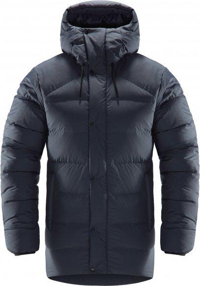 Haglöfs - Women's Näs Down Jacket - Daunenjacke Gr L schwarz/grau