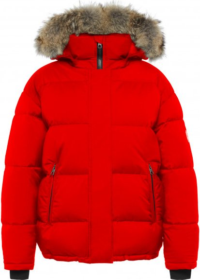 Quartz Co - Women's Ingrid - Daunenjacke Gr M rot