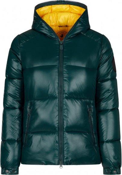 Save the Duck - Women's Luck9 Hooded Jacket - Kunstfaserjacke Gr XS schwarz/türkis