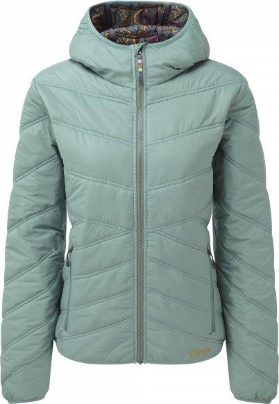 Sherpa - Women's Kailash Hooded Jacket - Kunstfaserjacke Gr XS grau