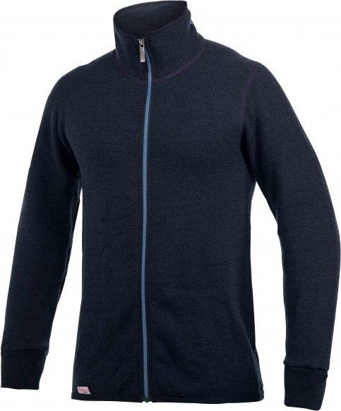 Woolpower - Full Zip Jacket 400 Color Collection - Wolljacke Gr XS schwarz