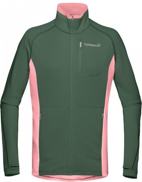 Norrøna - Women's Bitihorn Warm1 Stretch Jacket - Fleecejacke Gr XS oliv