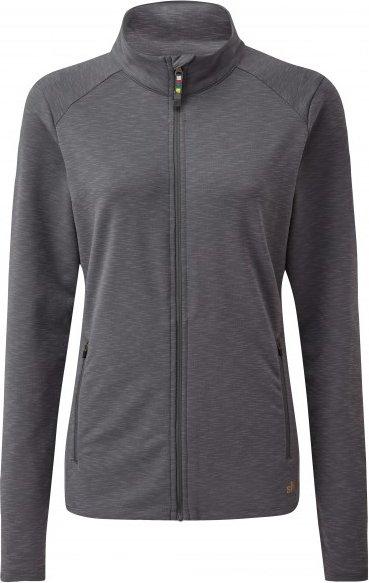 Sherpa - Women's Om Jacket - Fleecejacke Gr L schwarz/grau