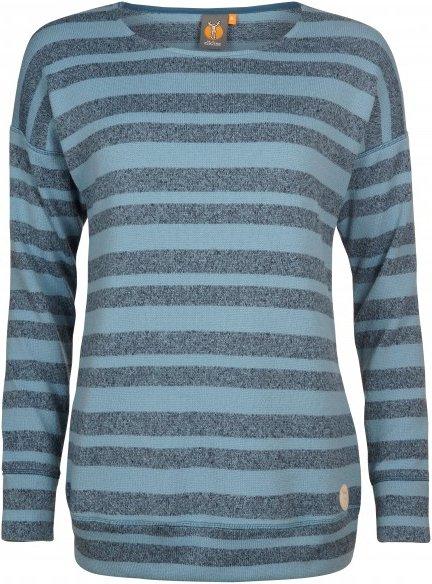 Elkline - Women's Lotti - Fleecepullover Gr 50 grau/blau