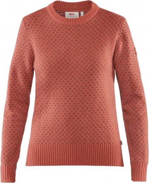 Fjällräven - Women's Övik Nordic Sweater - Wollpullover Gr XS rot