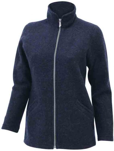 Ivanhoe of Sweden - Women's Brodal Long - Wolljacke Gr 44 schwarz/blau