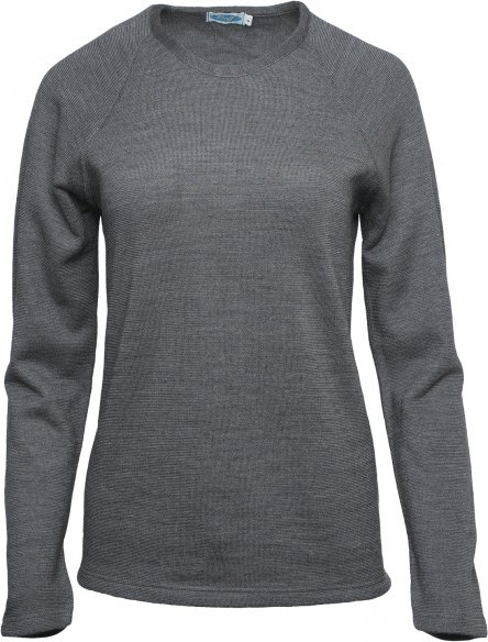 Reiff - Women's Shirt Fany - Merinopullover Gr M grau/schwarz