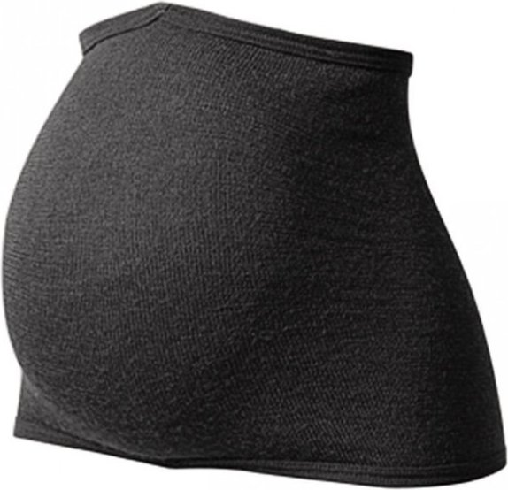 Woolpower - Bauch- und Nierenwärmer 200 Gr One Size schwarz