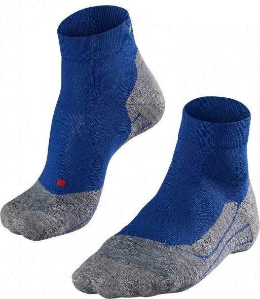 Falke - Falke RU4 Short - Laufsocken Gr 46-48 blau/grau