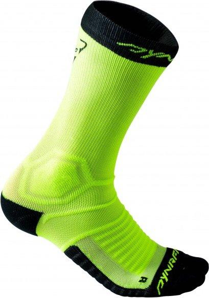 Dynafit - Ultra Cushion Sock - Laufsocken Gr 35-38 grün/schwarz