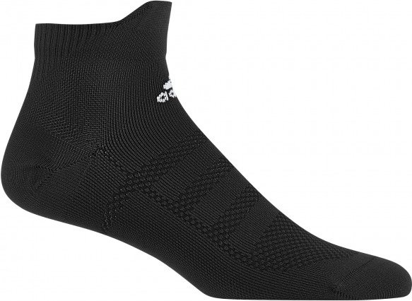 adidas - Alphaskin Ankle Ultralight - Laufsocken Gr 34/36 schwarz