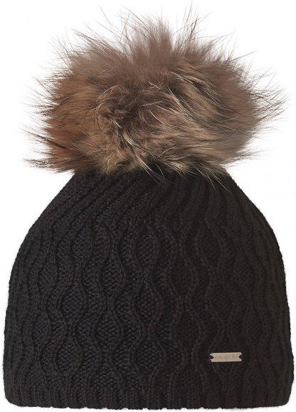 Stöhr - Elsa - Mütze schwarz/braun