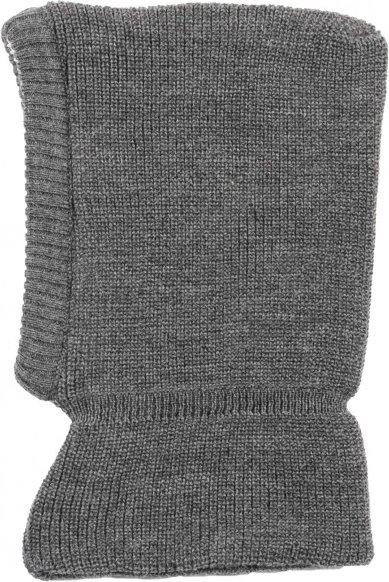 Reiff - Kid's Schlupfmütze Gr 46/48 grau/schwarz