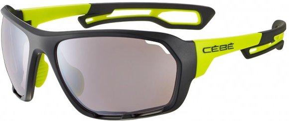 Cébé - Upshift Sensor S2 (VLT 36%) - Fahrradbrille grau/schwarz