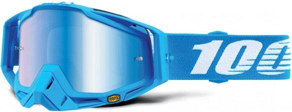 100% - Racecraft Goggle Anti Fog Mirror S2 (VLT 42%) - Fahrradbrille blau/grau