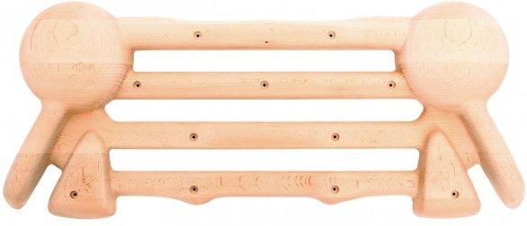So iLL - Wood Palm Board - Trainingsboard beige/weiß