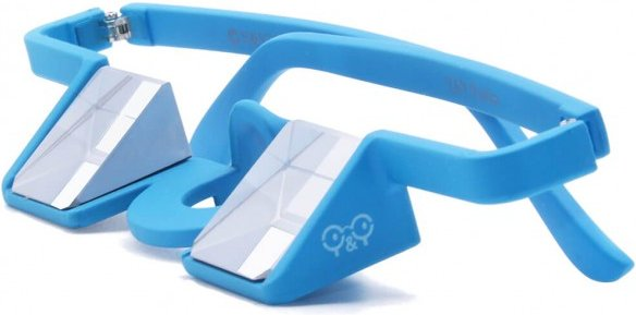 YY Vertical - Plasfun - Plastiksicherungsbrille blau