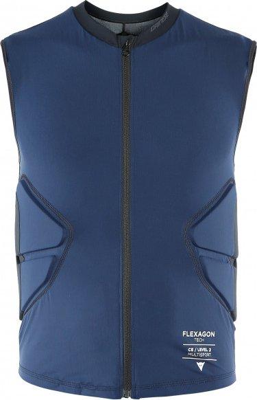 Dainese - Flexagon Waistcoat - Protektorweste Gr XXL blau