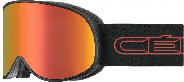 Cébé - Attraction Cat.3/Cat.1 - Skibrille Gr L orange/rot/schwarz