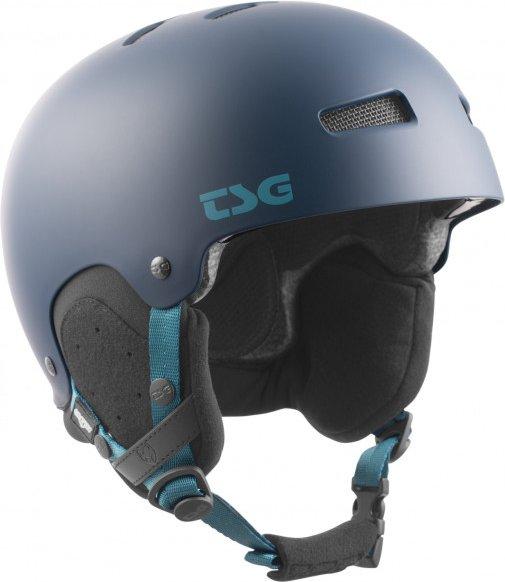 TSG - Gravity Solid Color - Skihelm Gr L/XL grau/schwarz/blau