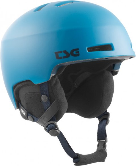 TSG - Tweak Solid Color - Skihelm Gr S/M schwarz/blau/grau