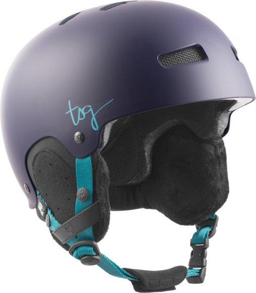 TSG - Women's Lotus Solid Color - Skihelm Gr L/XL schwarz/blau/grau