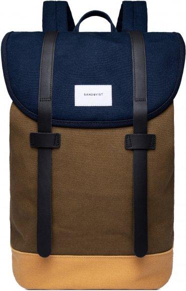 Sandqvist - Stig 14 - Daypack Gr 14 l braun/schwarz/blau