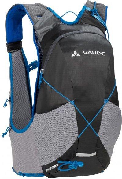 Vaude - Trail Spacer 8 - Trailrunningrucksack Gr 8 l schwarz/grau/blau