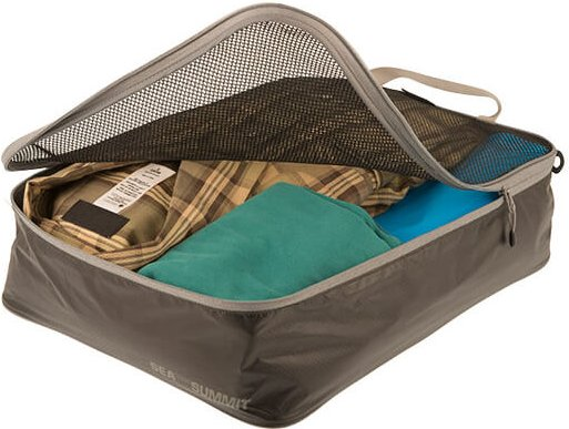Sea to Summit - Garment Mesh Bag - Packsack Gr M braun/grau/schwarz