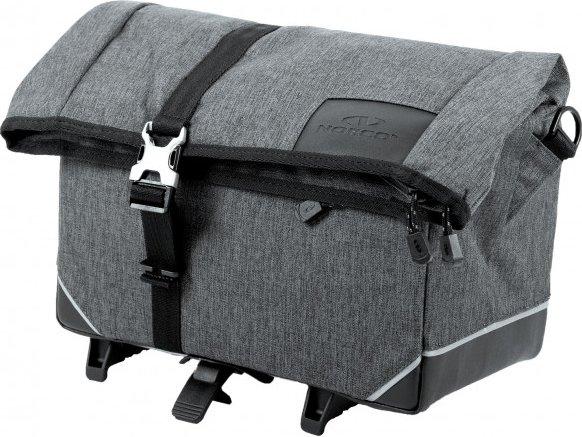 Norco Bags - Exeter Gepäckträgertasche Topklip - Gepäckträgertasche Gr 10 l grau/schwarz