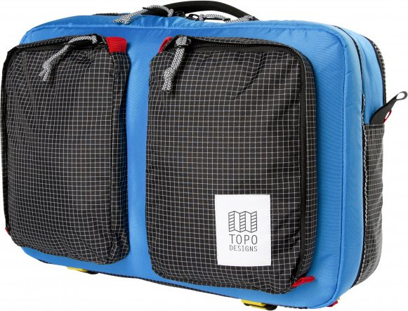 Topo Designs - Global Briefcase 3-Day - Umhängetasche Gr 23 l schwarz/blau